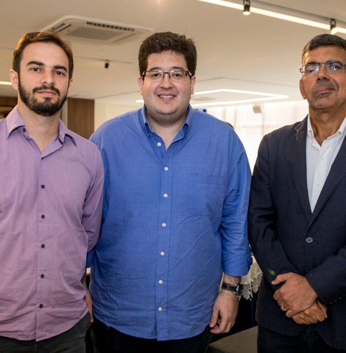 Renan Sampaio, Yuri Torquato E Lauro Chaves