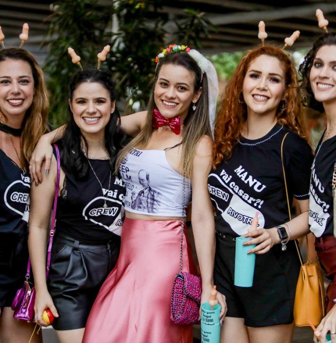 Renata Sleiman, Lorrane Almeida, Emanoela Lacerda, Tais Rocha E Paula Ribeiro