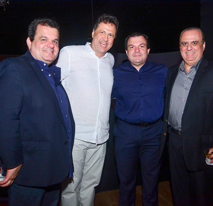 Renner Júnior, Ricardo Lopes, Fernando Ferrer E Max Câmara