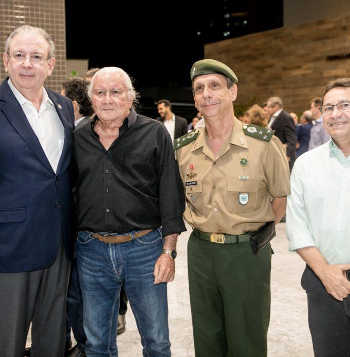 Ricardo Cavalcante, Chico Barreto, Gen Cunha Mattos e Alcir Porto