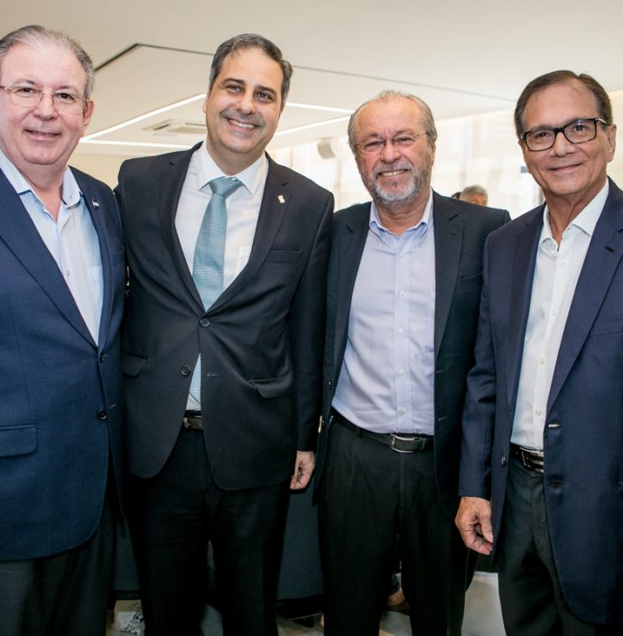 Ricardo Cavalcante, Erinaldo Dantas, Candido Albuquerque E Beto Studart