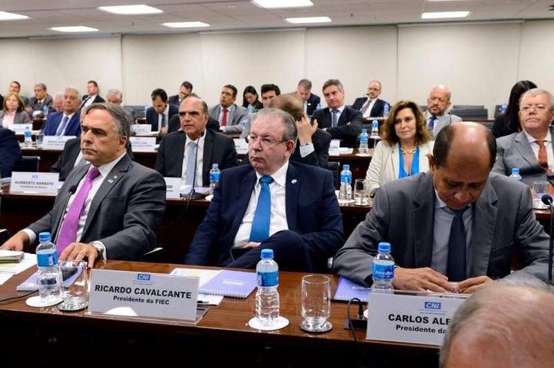 Ricardo Cavalcante participa de reuniões na CNI e no MDR, em Brasília