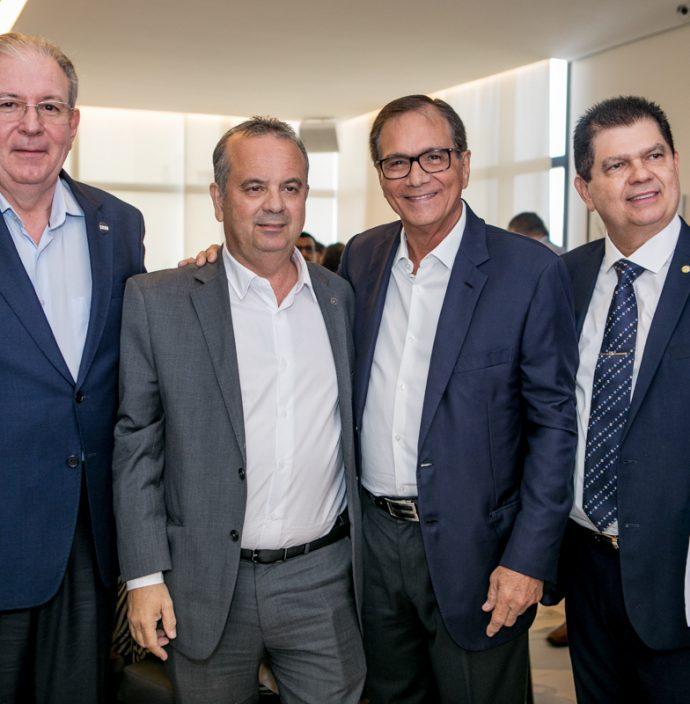 Ricardo Cavalcante, Rogerio Marinho, Beto Studart E Mauro Benevides Filho