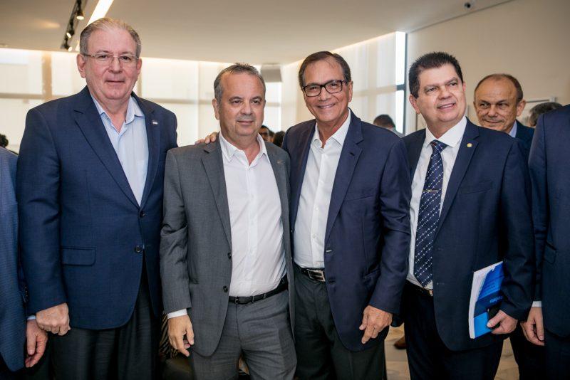 Fiec Unida - Rogério Marinho se reúne com líderes empresariais cearenses na Casa da Indústria