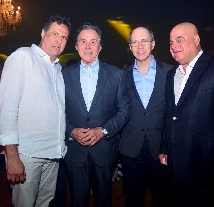 Ricardo Lopes, Eunício Oliveira, Luciano Cavalcante