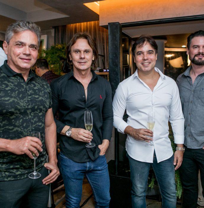 Ricardo Machado, Kilderi Freitas, Rodrigo França E Gustavo Pinheiro