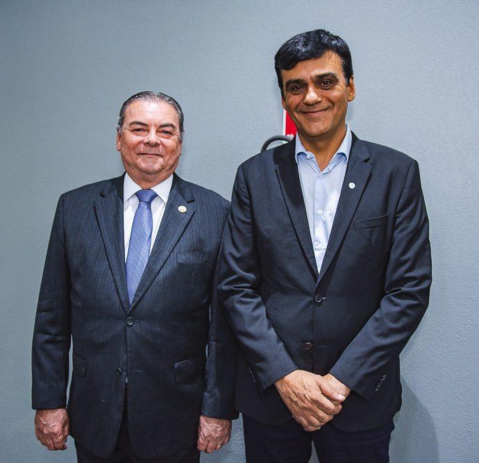 Ricardo Rocha e Naumi Amorim