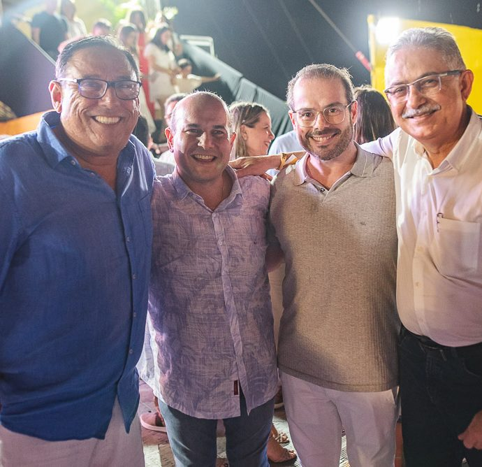 Roberto Claudio, Prisco Bezerra E Nilson Diniz