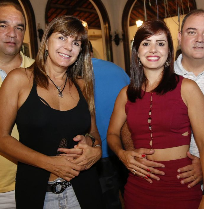 Robson Pascoal, Ana Madeira, Mirela Grimaldi E Bergson Fonseca