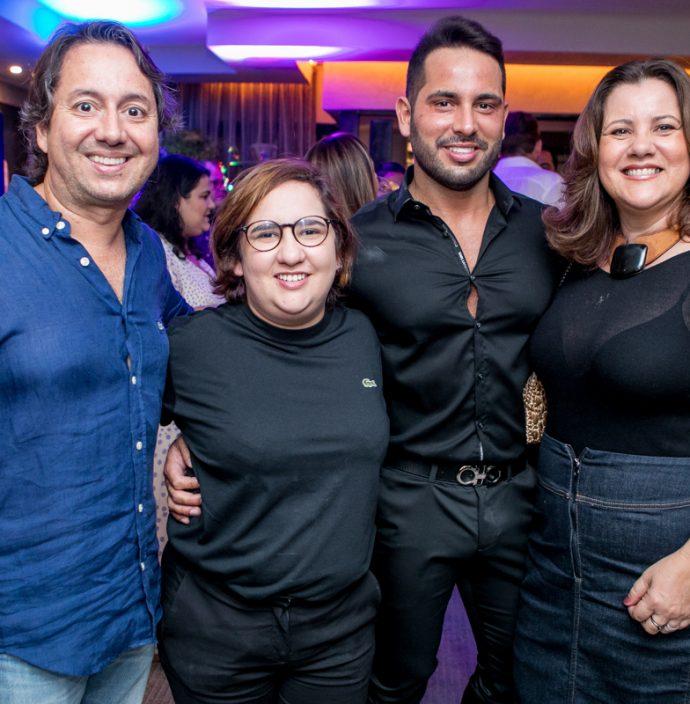 Rodrigo Parente, Azuhli, Veri Bessa E Luciana Eloy