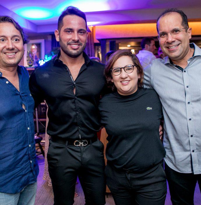 Rodrigo Parente, Veri Bessa, Azuhli E Humberto Halliday
