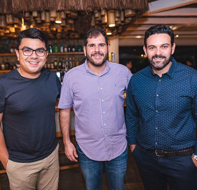 Rolf Campos, Eduardo Castelão e Clóvis Holanda