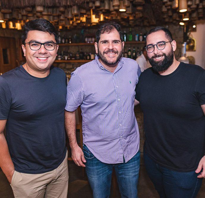 Rolf Campos, Eduardo Castelão e Luiz Victor Torres