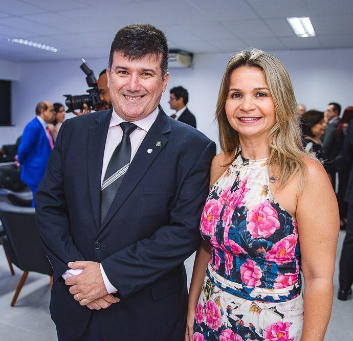 Ronaldo e Neiliane Borges