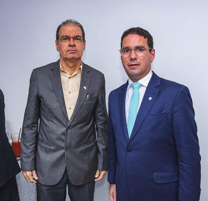 Ronaldo Saraiva e Roberto Araujo