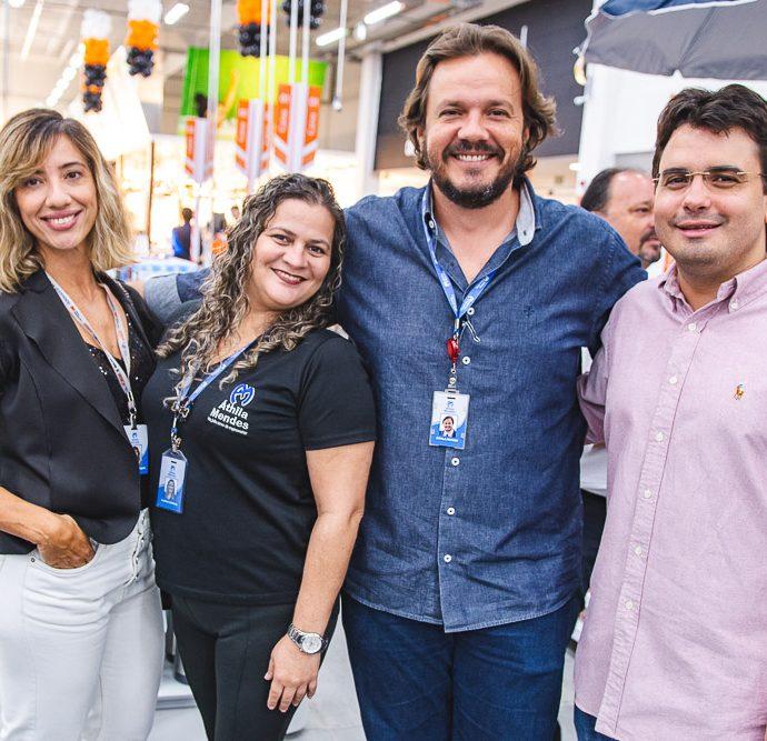 Ruthenia Mendes, Alzira Camara, Athila Mendes E Ricardo Frota