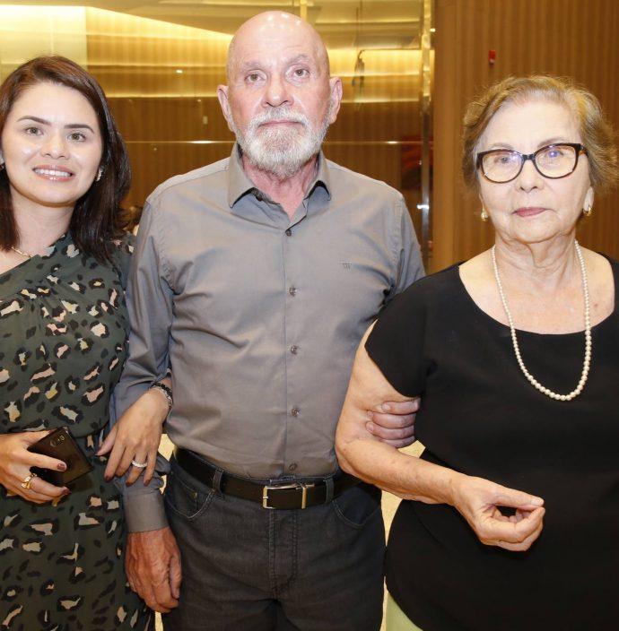 Shirlei Barros, Candido Pinheiro E Maria Eugenia