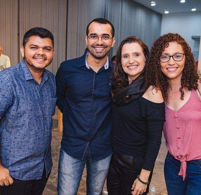 Sidney Chaves, Ronoaldo Camara, Andrea Dallolio E Yasmin Ferreira