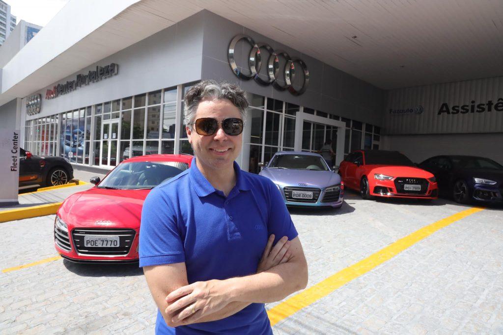 Silvio Palácio promove a Audi Sport Experience 2020