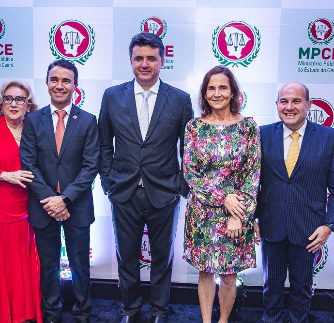 Socorro França, Placido Rios, Manuel Pinheiro, Izolda Cela e Roberto Claudio