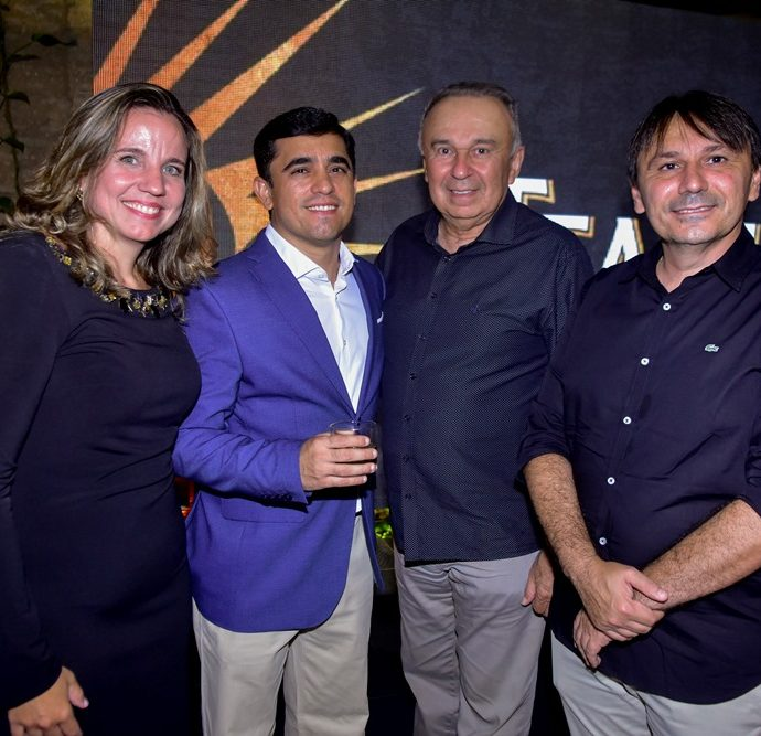 Sylvia Sarubbi, Thiago Gerbasi, Bosco Pinheiro, Jocélio Parente
