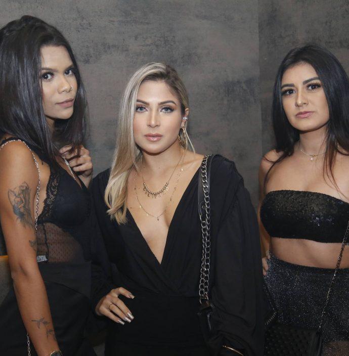 Talita Mesquita, Raquel Sole e Raquel Rodrigues