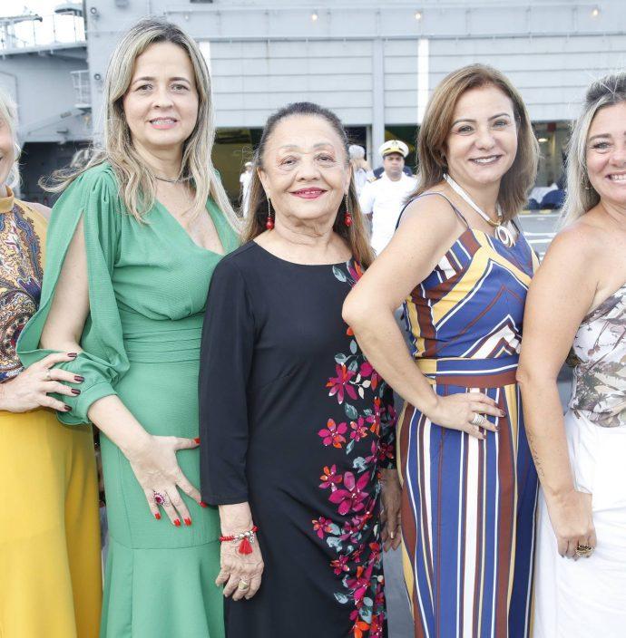 Tania Vieira, Mychele Sampaio, Perpetua Pinto, Simone Cardoso E Luciana Silva