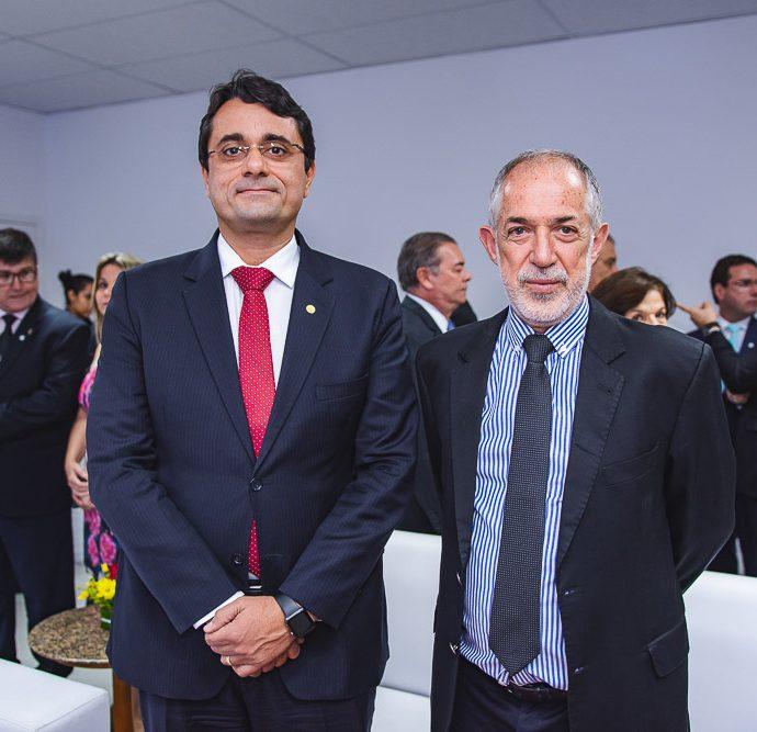 Tarcisio Bonfim e Jose Silveria