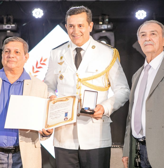 Tc Messias, Cel Andrade Mendonça E Cel Gilson Liberato