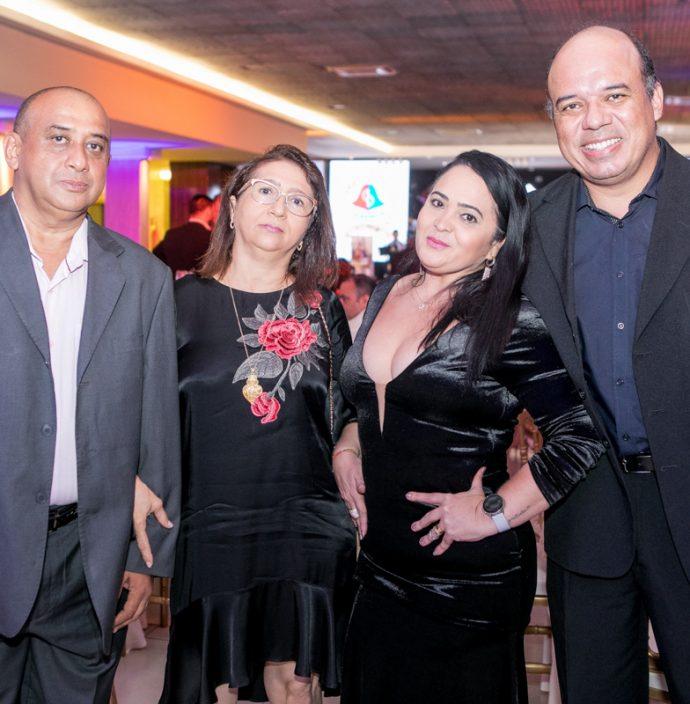 Ten Germano Carvalho, Rita Carvalho, Kildma Martins E Cel Anderson Viana