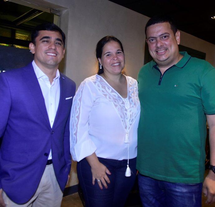 Thiago Gerbasi, Juliana Cavalcante, Rodrigo Cavalcante