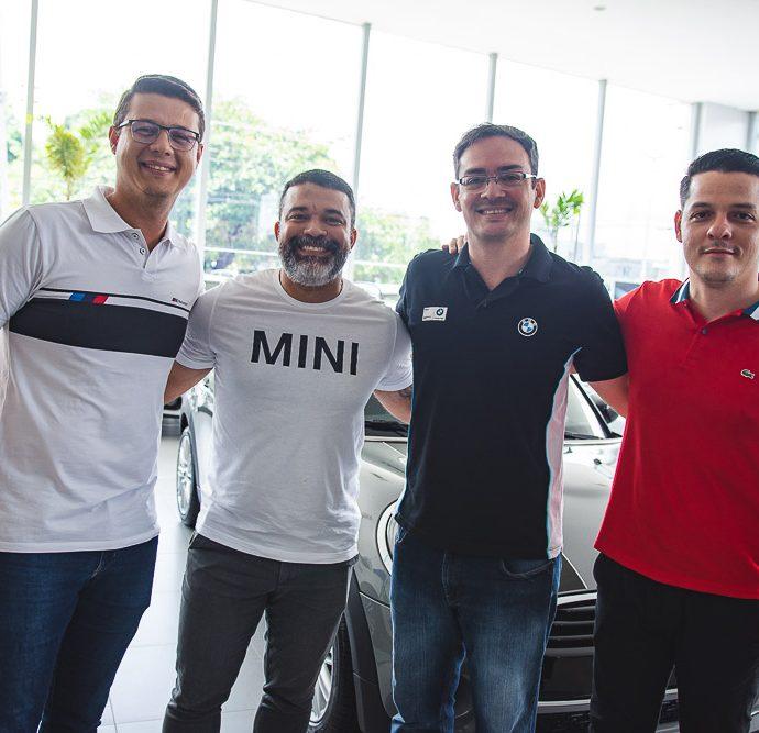 Thiago, Rodrigo Patriota, Romerio Pereira E Saulo Parente