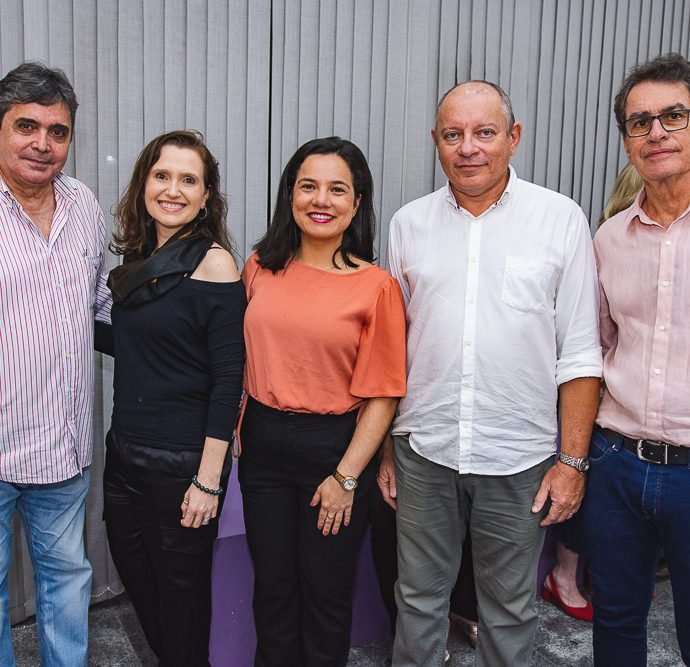 Totonho Laprovitera, Andrea Dallolio, Graciele Siqueira, Napoleao Ferreira E Cesar Fiuza