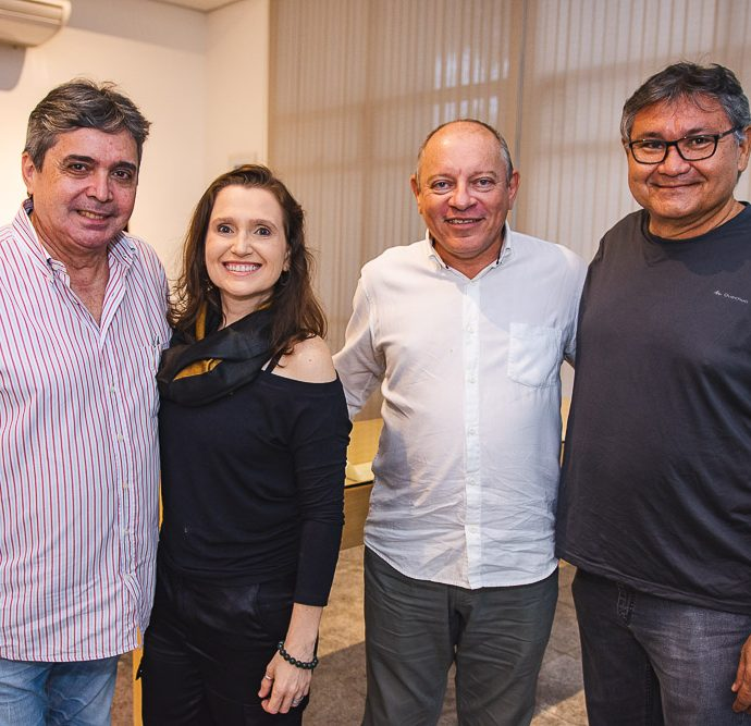 Totonho Laprovitera, Andrea Dallolio, Napoleao Ferreira E Aureo Castelo Branco