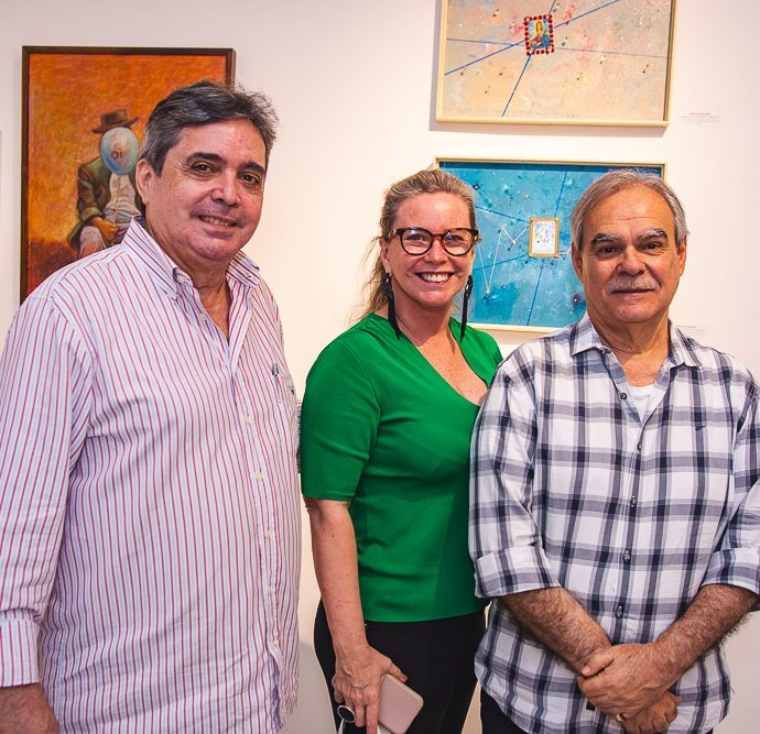 Totonho Laprovitera, Beatriz Perlingeiro E Max Perlingeiro