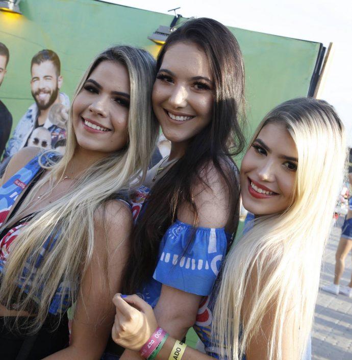 Tricia Freitas, Karine Pinheiro E Paula Helena