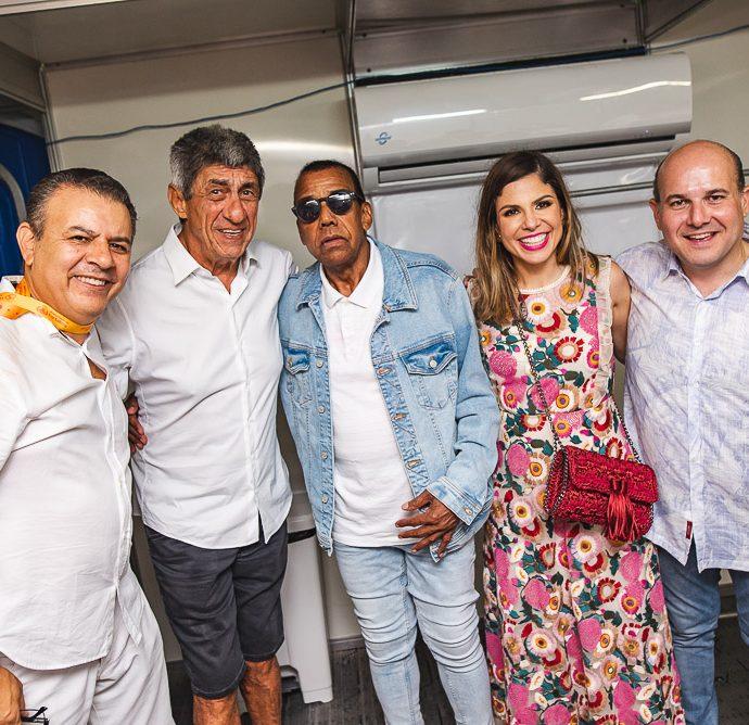 Valdir Fernandes, Raimundo Fagner, Jorge Benjor, Carol Bezerra E Roberto Claudio