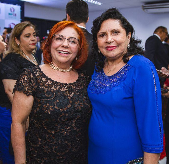 Vanja Fontenele e Nailde Pinheiro