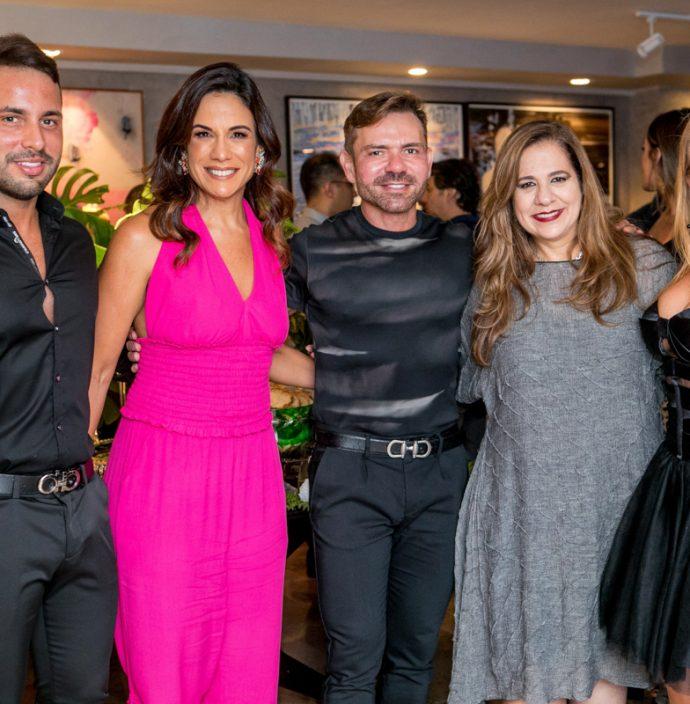 Veri Bessa, Ana Virginia Martins, Fred Carioca, Martinha Assunçao E Leticia Studart