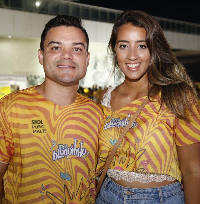 Victor Toscano E Jamile Pinheiro