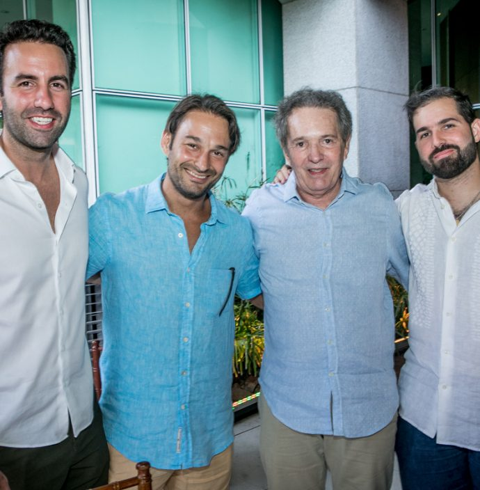 Vitor Frota, Claudinho, Claudio E Felipe Rocha