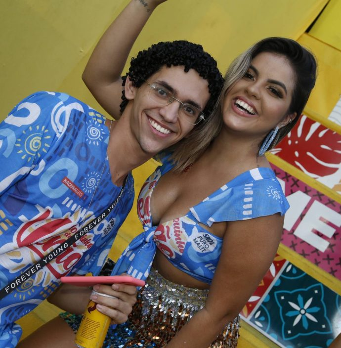 Vitor Teixeira E Rayane Carioca