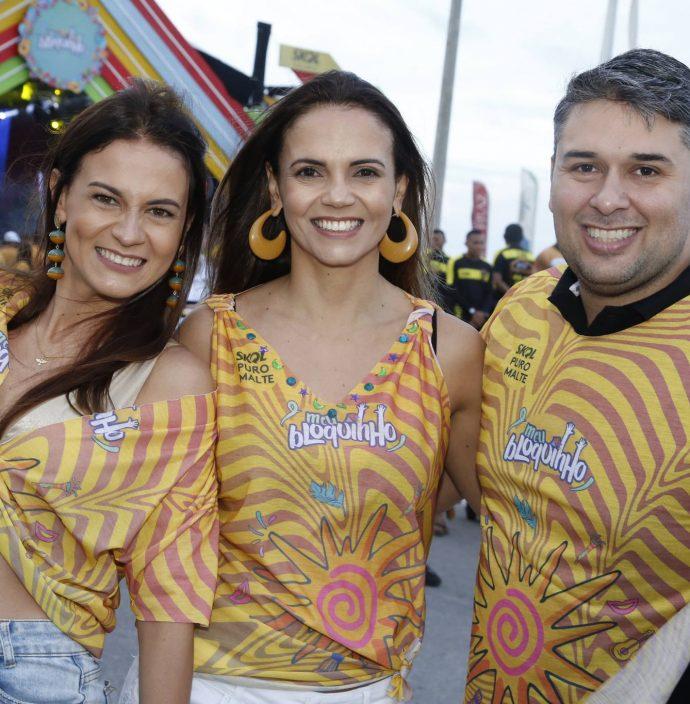 Vivian Bezerra, Viviane Ribeiro E Paulo Alves