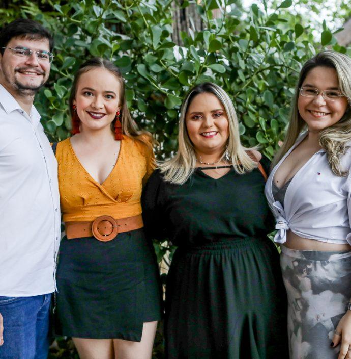 Walter Barbalho, Jessica Cavalcante, Karine Silveira E Hanna Sheridan