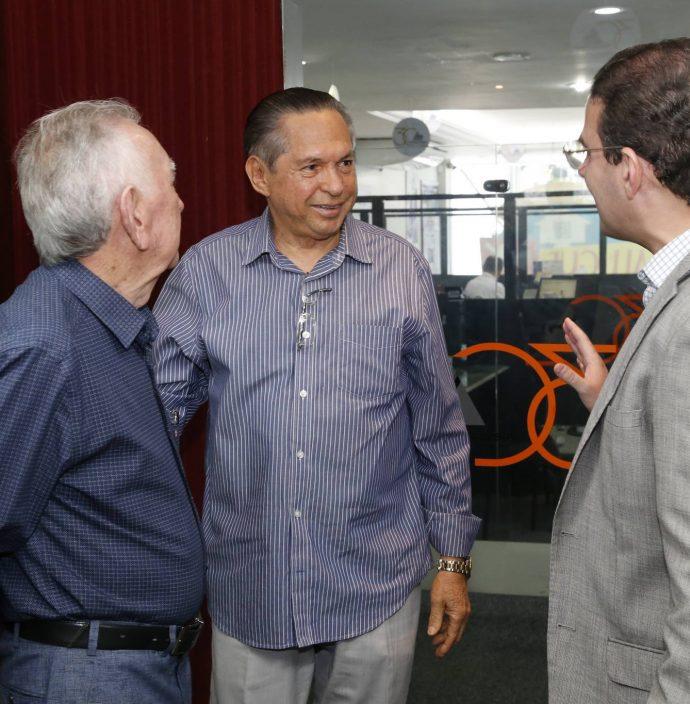 Walter Belchior, Antonio Cambraia E Roberto Araujo