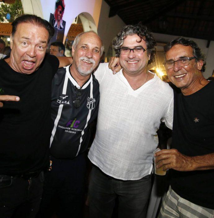 Werner Rolim, Paulo Ograide, Jorge Vieira E Carmelo Arruda