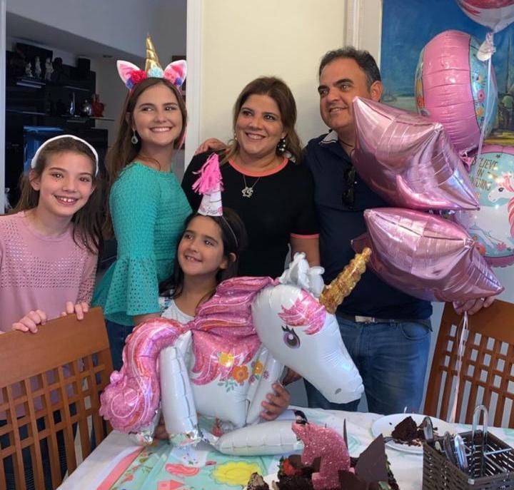 Gabriela Dias Branco celebra a nova idade em Orlando