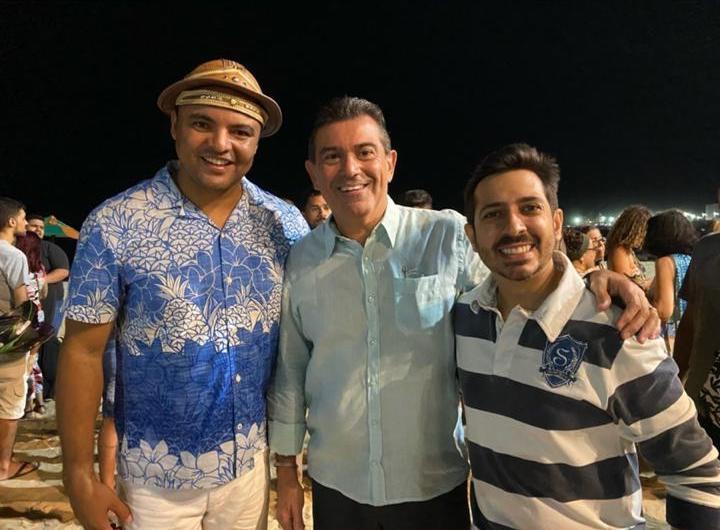 Chambinho do Acordeon abre a temporada de 2020 do Projeto Pôr do Sol Fortaleza
