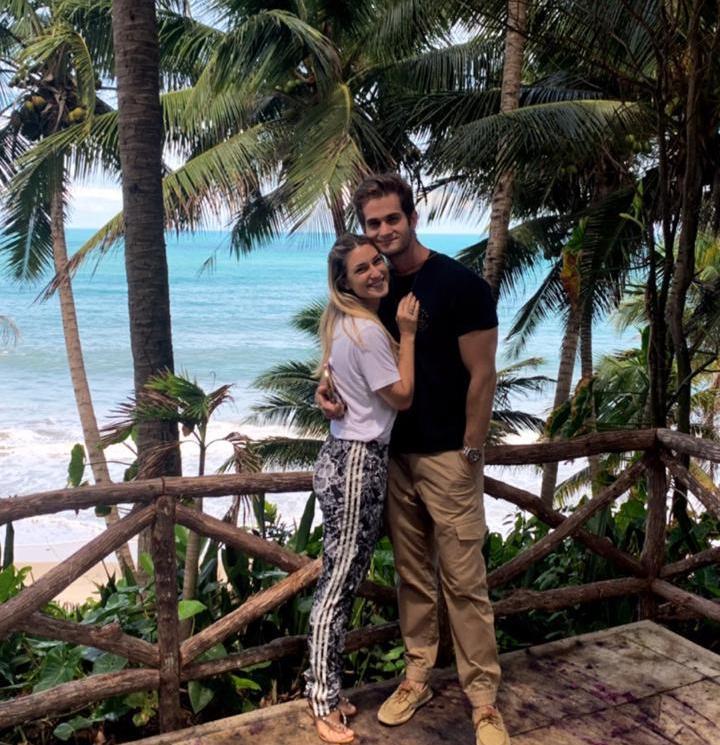 Bruna Magalhães e Ravi Macêdo já marcaram a data do casamento