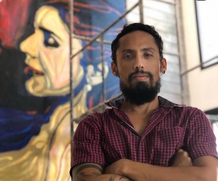 Juca Maximo deu start em 2020 levando sua arte para a Índia